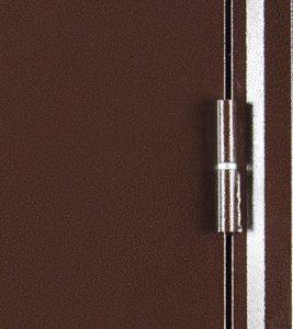 Дверь входная металлическая Промет Б3 Мастер правая 2050х950 мм снаружи металл Антик медный внутри МДФ Дуб Пикар