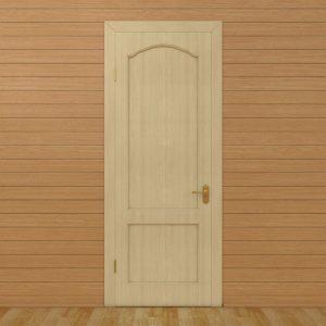 Дверное полотно ТДВ арочное глухое сосна 2000х600 мм