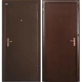 Дверь входная металлическая Промет Б2 Профи правая2050х950 мм Антик медный