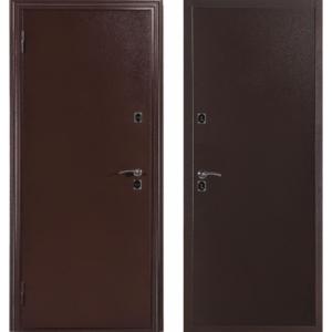 Дверь входная металлическая Меги 6034 левая 2050х870 мм Медный антик