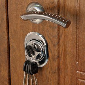 Дверь входная металлическая  Флоренция левая 860×2050 мм Золотой дуб