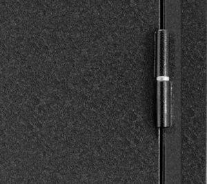 Дверь входная металлическая Промет С2 Форте правая 2066х980 мм снаружи металл Черный муар внутри МДФ Итальянский орех