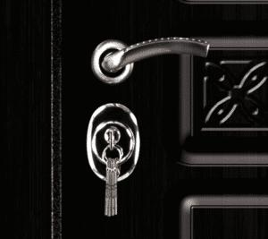 Дверь входная металлическая Промет С4 Сенатор S правая 2060х980 мм снаружи МДФ Vinorit almon 28 внутри МДФ Беленый дуб