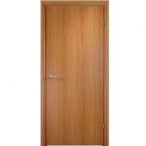 Дверное полотно Verda врезка 2014 с четвертью глухое Миланский орех 2000х600 мм
