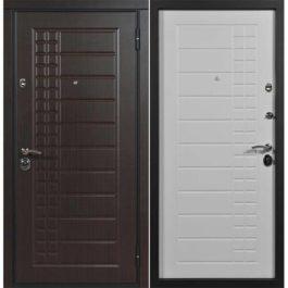 Дверь входная металлическая Сталлер Скала правая 2050х960 мм снаружи МДФ экошпон Венге внутри МДФ экошпон Пломбир