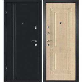 Дверь входная металлическая  Лайн-1 левая 860×2050 мм Беленый дуб