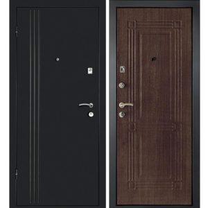 Дверь входная металлическая  Лайн-1 левая 860×2050 мм Венге