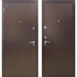 Дверь входная металлическая Меги 134 левая 2050х870 мм Медный антик